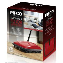 Pifco P28024 Floor Sweeper Light Weight Red