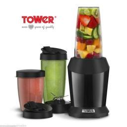 Tower T12020B Xtreme Pro Multi-Blender 1200W Black