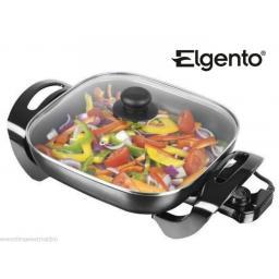 Elgento E14017 Electric Frying Pan 30 cm 1500 Watt Black
