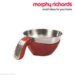Morphy Richards 46611 3 in 1 Digital Jug Scale Red