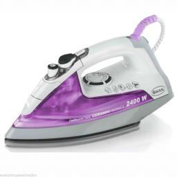 Swan SI3060N Steam Iron with Removable Tank 2400 Watt White/Pink