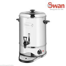 Swan SWU16L Tea Urn 16 Litre Bar/ Drinks Equipment Silver Brand New