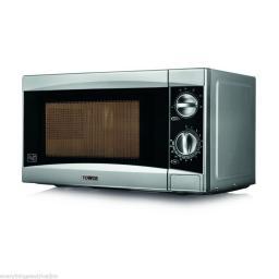 Tower T24001 Microwave 800 Watt 20 Litre Silver