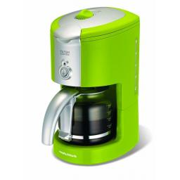 Morphy Richards 47054 Filter Coffee Maker 10 Cups Lime