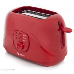 Signature S20004R 2 Slice Toaster 800 Watt Red