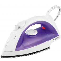 Elgento E22002 Steam Iron Adjustable Steam Teflon 2000 Watt White/Purple