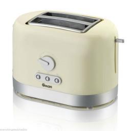 Swan ST10020CREN 2 Slice Cream Toaster