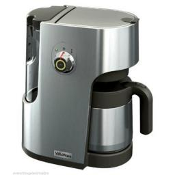 VillaWare BVVLDCSL01 Coffee Making Machine 1100 Watt Silver