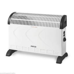 Pifco PE108 Convection Heater 2000 Watt White Freestanding Wall Mountable