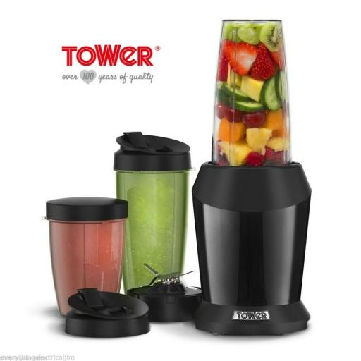 Tower T12020B Xtreme Pro Multi-Blender 1200 Watt Black