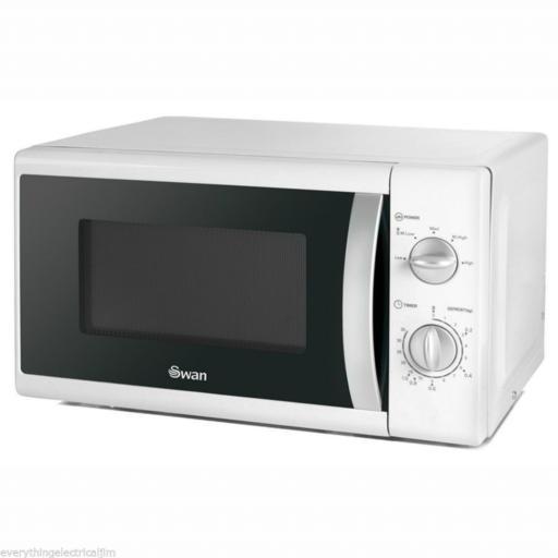 Swan SM40010N Solo Microwave 20 Litre 800 Watt White