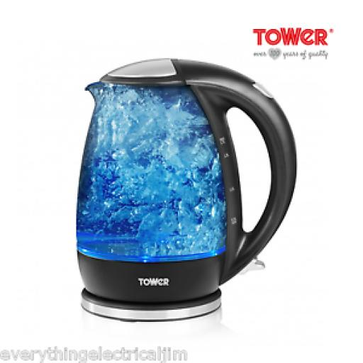 Tower T10004 1.7 L Illuminated Kettle With Blue LED