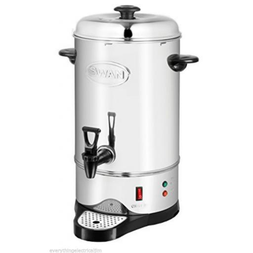 Swan SWU10L Tea Urn 10 Litre Bar/Drinks Equipment Stainless Steel Brand New