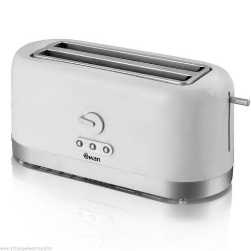 Swan ST10090N 4 Slice Toaster White