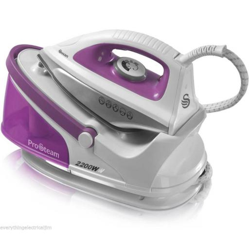 Swan SI11010BMN Steam Generator Iron 2200 Watt White/Pink