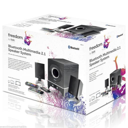 Itek I58012 Bluetooth Speaker System