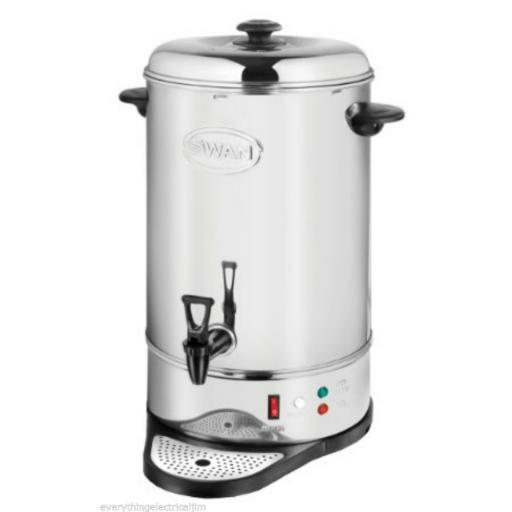 Swan SWU20L Tea Urn 20 Litre Drinks Equipment Stainless Steel Brand New