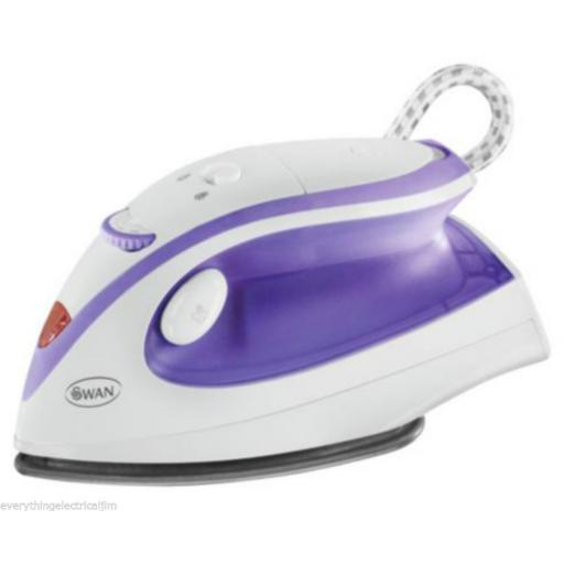 Swan SI5090N Travel Iron 900 Watt White/Purple