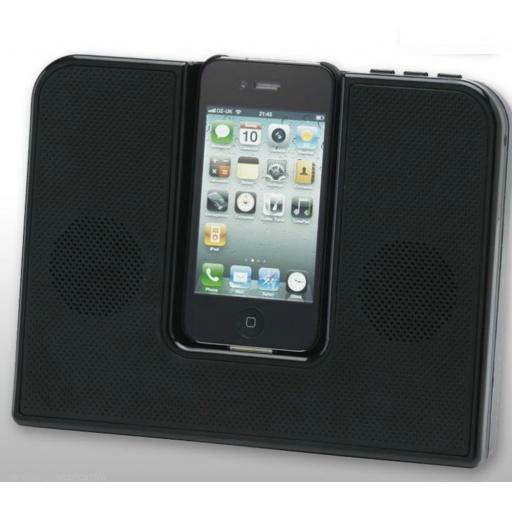 Inspired Listening 2249 Speaker for iPod and iPhone Black