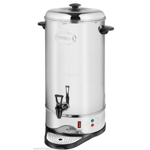 Swan SWU26L Tea Urn 26 Litre Drinks Equipment Stainless Steel Brand New