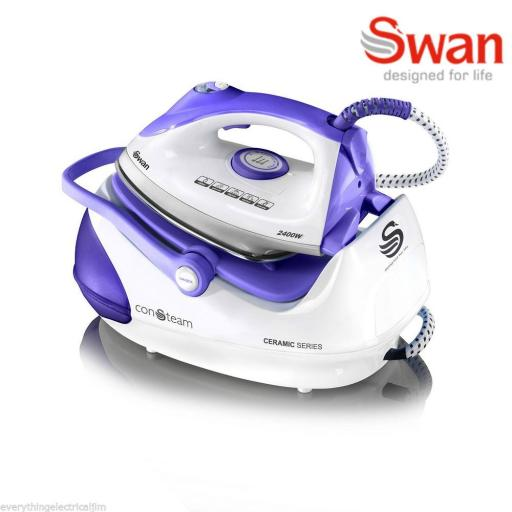 Swan SI9030N Steam Generator Iron 2400 Watt White/Purple