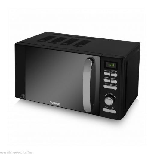 Tower T24010 20L Digital Microwave 800W Black