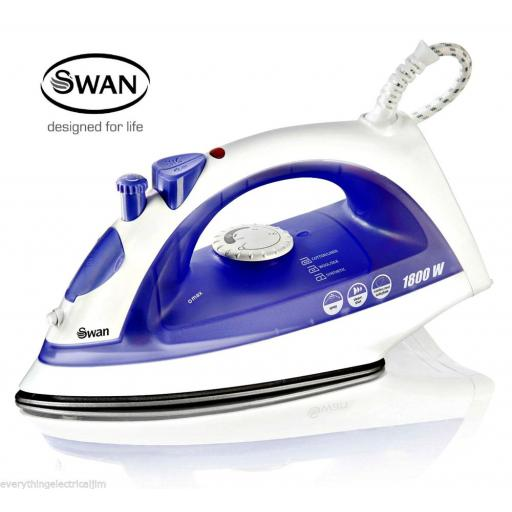 Swan SI30100N Steam Iron 1800 Watt Purple