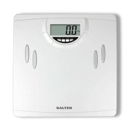 Salter 9139 WH3R Compact Analyser Bathroom Scale White
