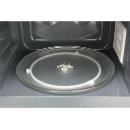 Daewoo KOR6AOR Digital Eco Microwave, 800 Watt, 20 L Black/Silver Handle