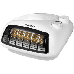 Pifco P44007 Flat Fan Heater 2400w Adjustable Thermostat