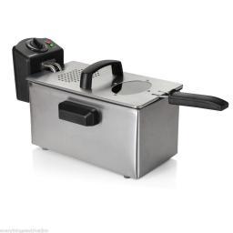 Sabichi 96227 3L Stainless Steel Easy Clean Deep Fryer