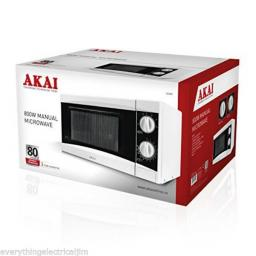 Akai A24001 20L Manual Microwave 800 W White