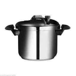 Tower T90103 One Touch Pressure Cooker 6 Litre Stainless Steel