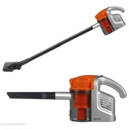 Pifco P28023S 3 in 1 Hand Held Vacuum Cleaner Dual Cyclone Silver/Orange
