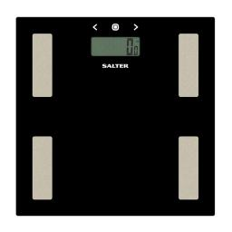 Salter 9150 Glass Analyser Electronic BMI Digital Bathroom Scale Black