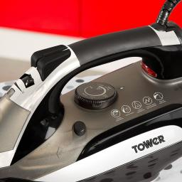 Tower T22001 CeraGlide Turbo Iron Variable Temperature Control 3000W!!!
