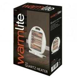 Warmlite WL42001 Electric Folding Quartz Heater 800 Watt White