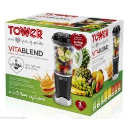 Tower T12002 Vitablend 21 Piece Multi-Blender 250 Watt Black