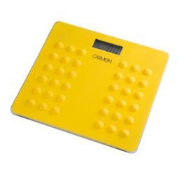 Carmen C19019 Electronic Personal Scale LCD Screen Display Yellow