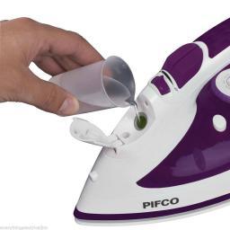 Pifco P22002PU EasiGlide Steam Iron 2800 Watt Ceramic Soleplate Purple