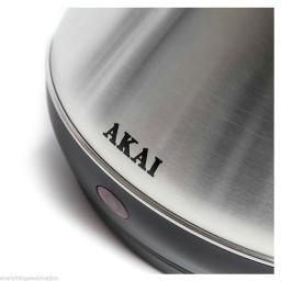 AKAI 3KW Stainless Steel Pyramid Cordless Kettle A10002