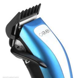 Carmen C82009 Sport Man's Powered Precision Hair Clippers Blue