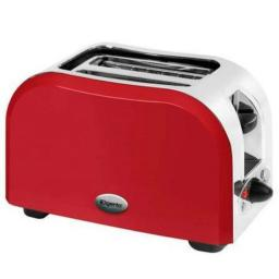 Elgento E449R 2 Slice Toaster Red Great Kitchen Essential Retro Chic Design