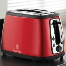 Russell Hobbs 19150 Heritage 2 Slice Toaster Red Brand New
