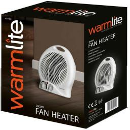 Warmlite 2000W Upright Fan Heater WL44002 *TWIN PACK*