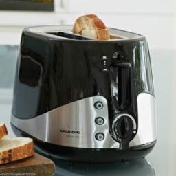 Grundig TA5040 2 Slice Toaster 1000 Watt Black