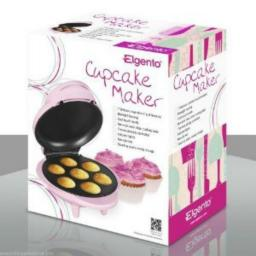 Elgento E19004 Cupcake Maker 1000 Watt Pink