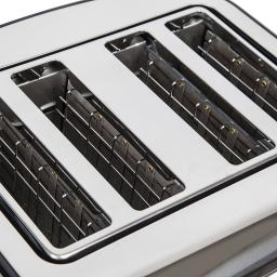 Akai A20002 4 Slice Toaster Stainless Steel Stylish & Perfect for your Kitchen