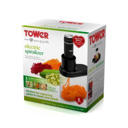 Tower T19014 Electric Sprializer Black