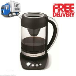 Morphy Richards 47140 Cascata Pump Filter Coffee Maker Black